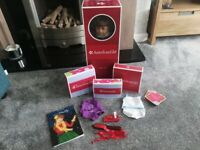 American girl doll with extras