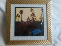Eagles Hotel California framed