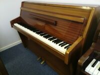 🎹 !!! Zender, Small Brown Mahogany Modern Piano, Nationwide Delivery, £650 !!! 🎹