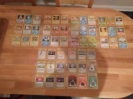 Pokemon Cards - Base Set Complete - 102/102