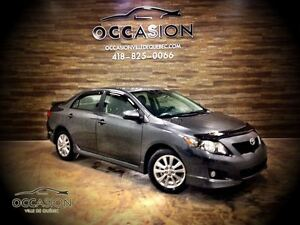 2010 Toyota Corolla S AUTOMATIQUE MAGS AIR CLIMATISE