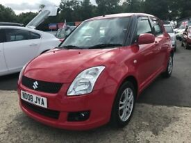 \\\\\ 08 SUZUKI SWIFT 1.3 GL ,, STUNNING CAR ,,, ONLY £2499 \\\\\