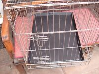 SMALL DOG CRATE (CAGE),SUITABLE FOR SMALL DOGS PUPPIES OR CATS