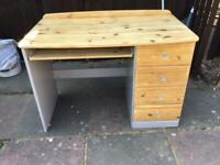 Upcycled computer desk