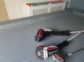 Full set Wilson staffs golf clubs for sale, used 3 times.