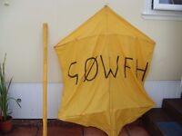 antenna lifting kites