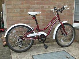 Girl's 20 inch bike