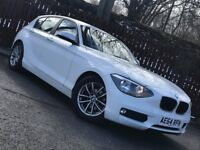 **LOW MILEAGE** 2014 BMW 1 SERIES 116D 12 MONTH MOT FULL BMW SERVICE HISTORY £0 ROAD TAX**