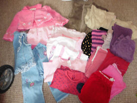 Bundle of toddler girl clothes 12-18 mths