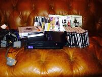 PS2 for spares / repair . Selection games