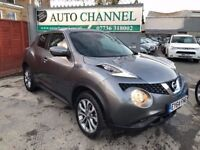 Nissan Juke 1.6 Tekna XTRONIC CVT 5dr£9,985 p/x welcome NEW SHAPE,1 YEAR FREE WARRANTY
