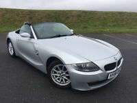 VERY LOW MILEAGE! 2006 BMW Z4 2.5 i SE ROADSTER! FULL SERVICE HISTORY AND LONG MOT!