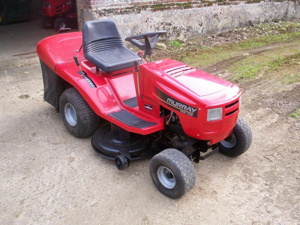 Murray Lawn Trimmers : Ride on murray lawn mower inch cut in
