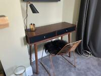 Desk, chair and lamp set