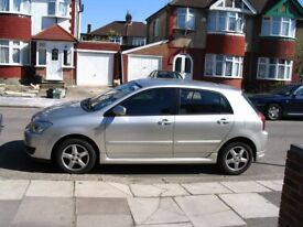 Toyota Corolla, 11,300 miles, Colour Collection, 1.4L, Hatchback, 2005 year, Manual, 5 doors
