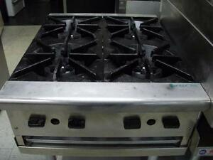4 Burner Range , stove, gas