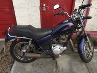 Yamaha SR125 Road Legal Perfect for commuting and learner riders