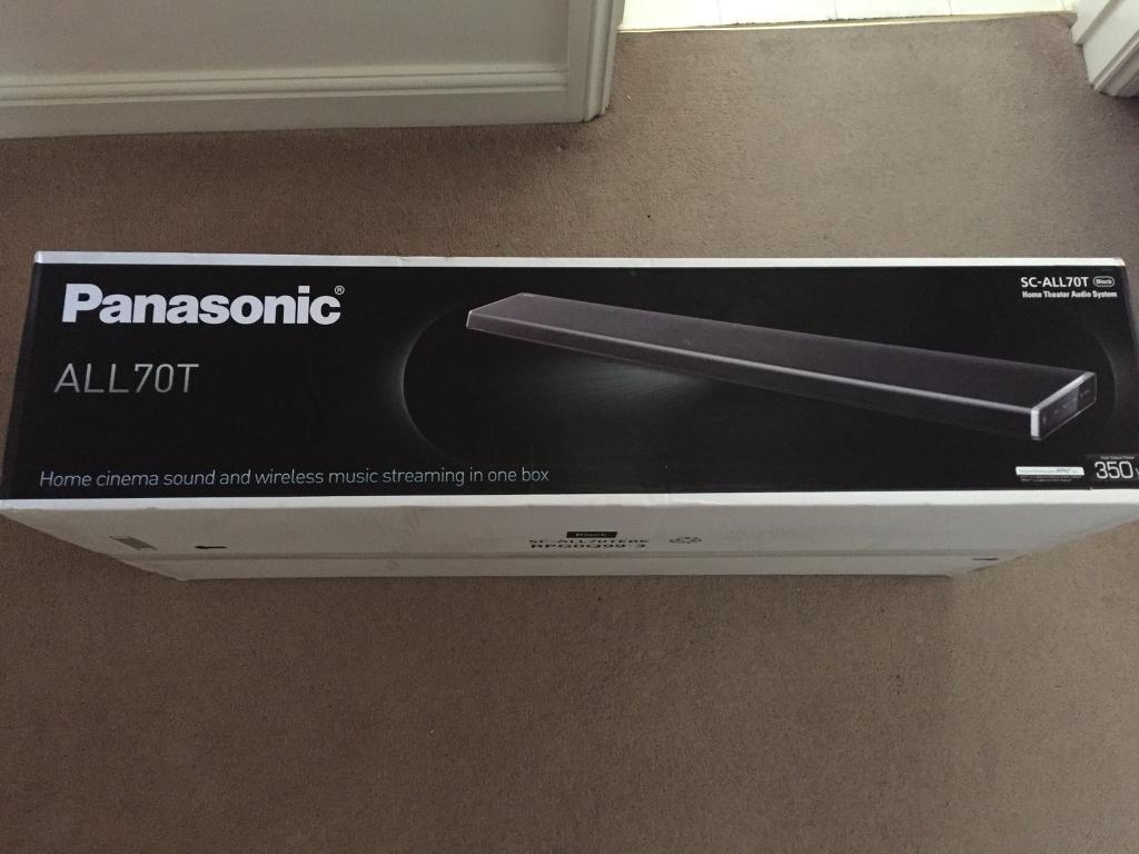 Panasonic SC-ALL70T Home Theatre Audio System