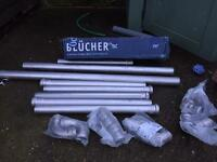 Blucher waste pipe & fittings Stainless Steel