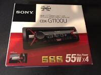 Sony CDX G1100U stereo