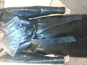 manteau de cuir long pour homme Gatineau Ottawa / Gatineau Area image 3