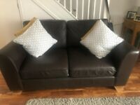 Quality 2 Seater leather Sofa