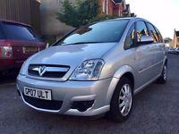 Vauxhall Meriva 1.6 5dr£1,895 FULL SERVICE HISTORY