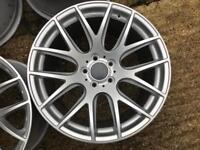 18' 5x112 genuine 3sdm alloy wheels