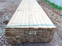 "Pressure Treated 3.6m- 4""x2"" / 95mm x 45mm timber - Regularised Planed C16/C24"