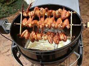 Rotisserie add on kit for Weber Kettle Grill and Gas Grills