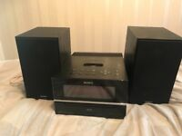 Sony stereo CD player docking station