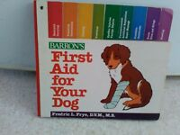BOOK FIRST AID FOR YOUR DOG