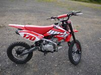 PITBIKE 140CC LIKE NEW READY TO GO