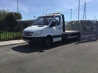 Mercedes 513 sprinter recovery truck vgc lots of history new beaver tail body and winch must be seen