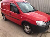 2008 vauxhall combo 1.3 diesel mileage 94370 mot 03/2019 £1499 no vat