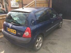 Renault Clio 1.5 Diesel, 3Door, £30 Road Tax.