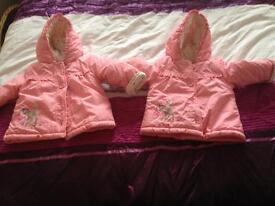 2 pink bambi design Jackets