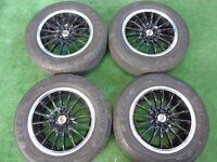 "TEAM DYNAMICS VW GOLF MK4, MK5, MK6, MK7, PASSAT, TOURAN, CADDY 15"" ALLOY WHEELS"