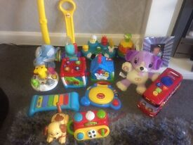 Selection of baby and toddler toys £5 per item from pet and smoke free home