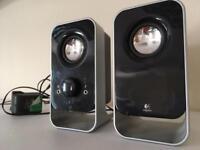 PC phono-jack speakers