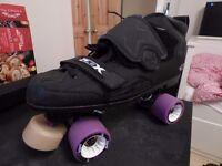 Custom Made Roller Derby Skates Size 10.5