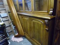 victorian 4 door book case