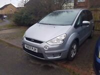 Ford S-Max 1.8 TDCi, MOT January 2018, 2 New Tyres, Recent Clutch, Flywheel and timing belt