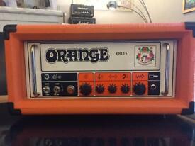 Orange OR15 amp Head new and unused