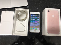 APPLE IPHONE 7 32GB ROSE GOLD EE NETWORK BOXED