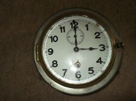vintage ships wall clock(distressed look) enable face