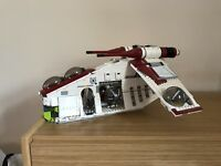 Star Wars Lego republic gunship