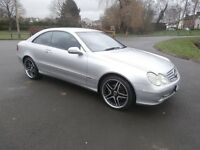 MERCEDES BENZ CLK270 CDi / PRIVATE PLATE INCLUDED / FULL SERVICE HISTORY / MERCEDES UPGRADED WHEELS