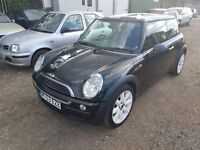 MINI Hatch 1.6 One 3dr, LONG MOT, HPI CLEAR, WARRANTED MILEAGE, GOOD CONDITION, P/X WELCOME