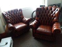Sofa Chestafield chairs